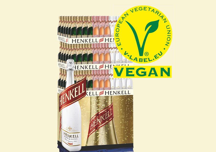 Henkell wird offiziell vegan