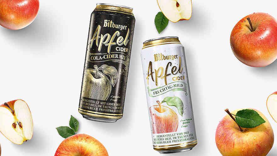 Bitburger führt Cider dauerhaft ein