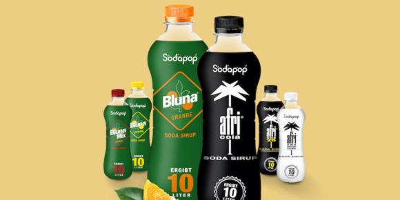 Sodapop kooperiert mit Afri und Bluna