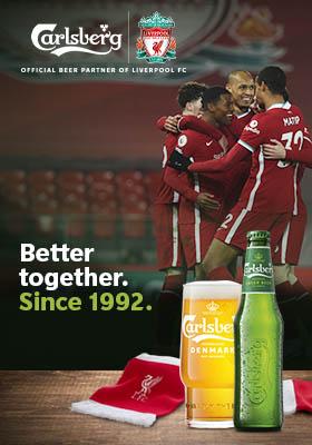 Werbeanzeige Carlsberg RT2