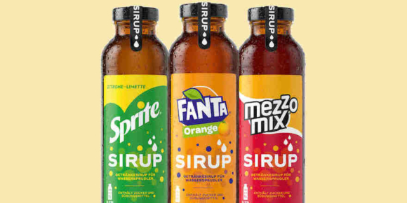 Coca-Cola testet Sirupe