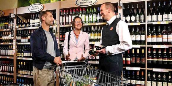 Weinkauf in den Handel verlagert