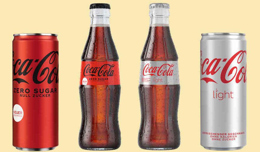 Neues Coca-Cola-Design