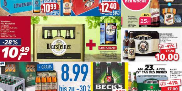 Bierpreise fallen wieder