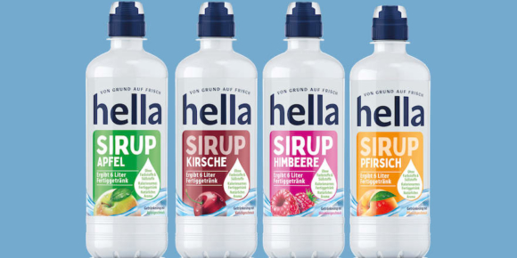 Hella steigt ins Sirup-Geschäft ein