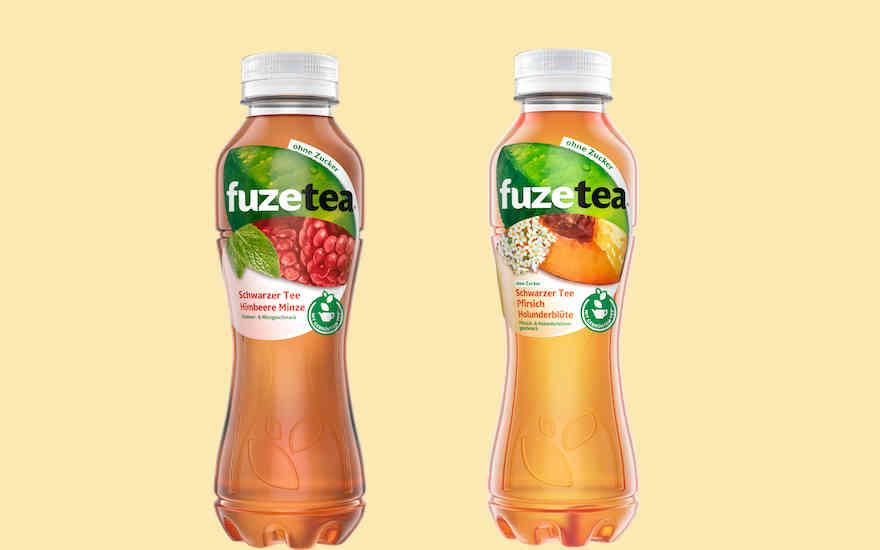Zuckerfreies Eistee-Duo