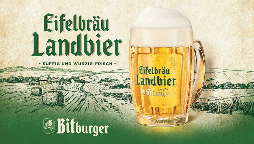Bitburger bringt helles Landbier