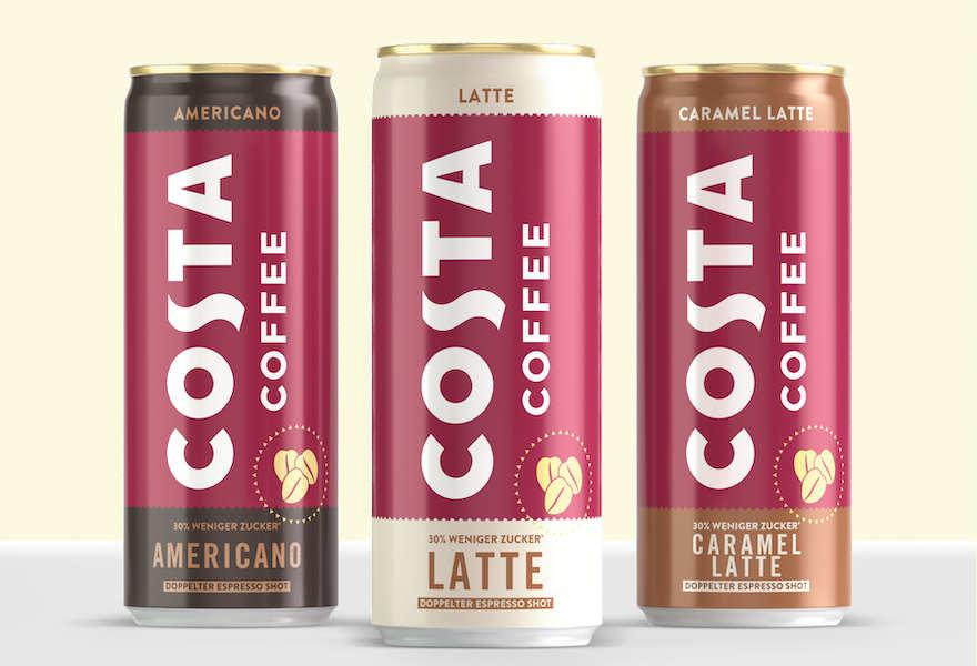 Costa Coffee nun auch in der Dose