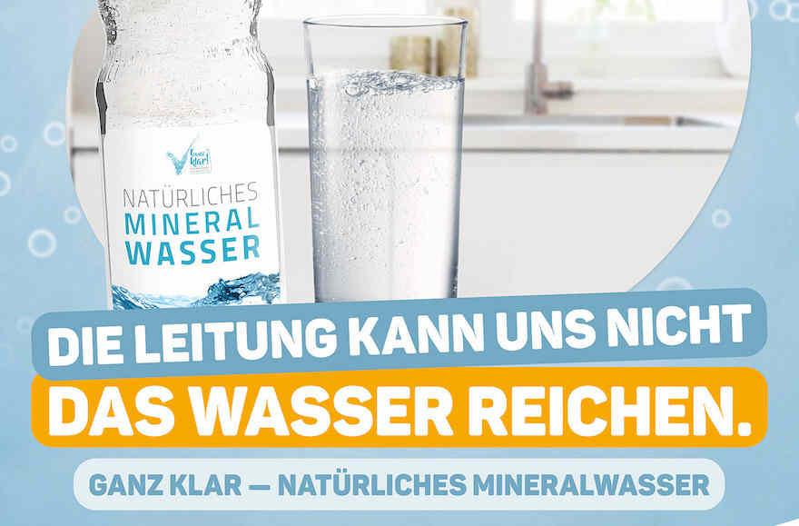 Gemeinsam für Mineralwasser kämpfen