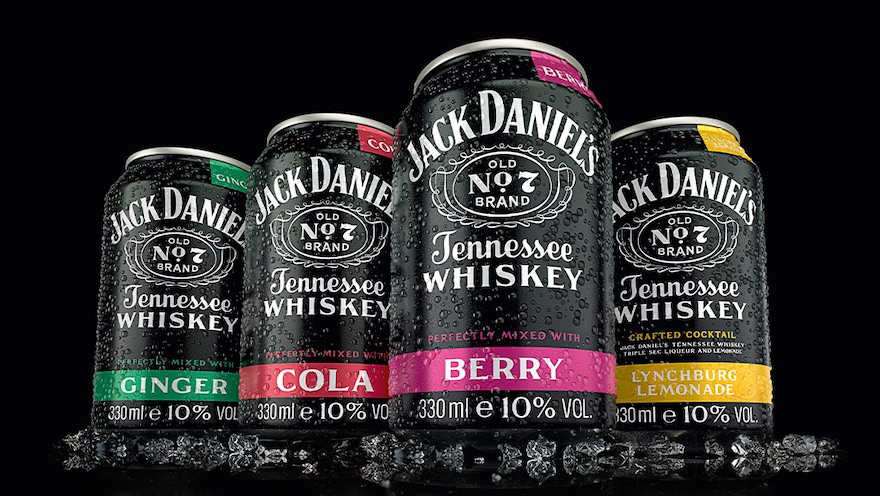 Jack Daniel's-Dosen in neuem Look