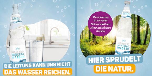 Mineralwasser will lauter werden 1