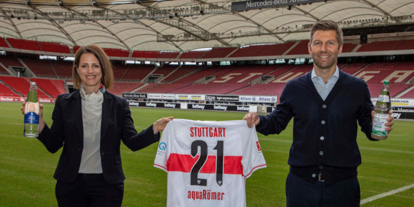 Aqua Römer wird Partner des VfB