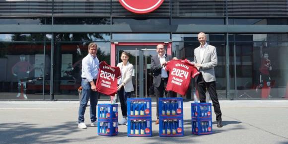Frankenbrunnen bleibt FCN-Partner