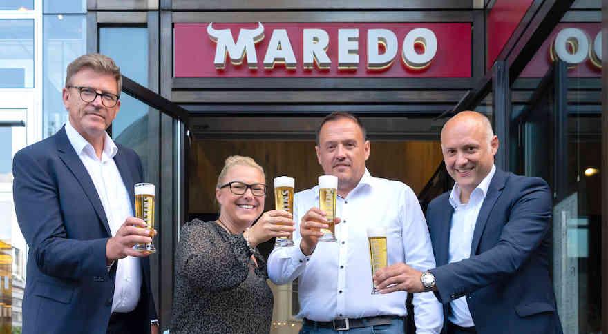 Veltins neuer Bierpartner von Maredo
