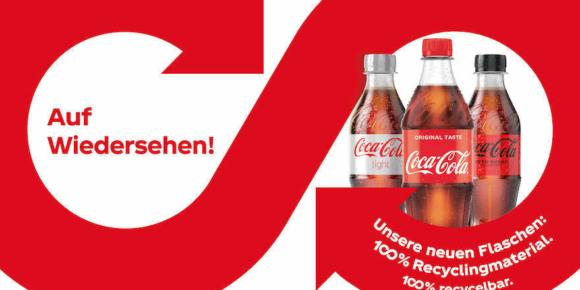Coca-Cola baut Einsatz von rPET aus
