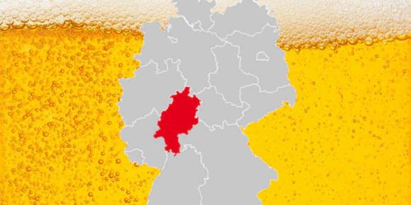 Der Biermarkt in Hessen