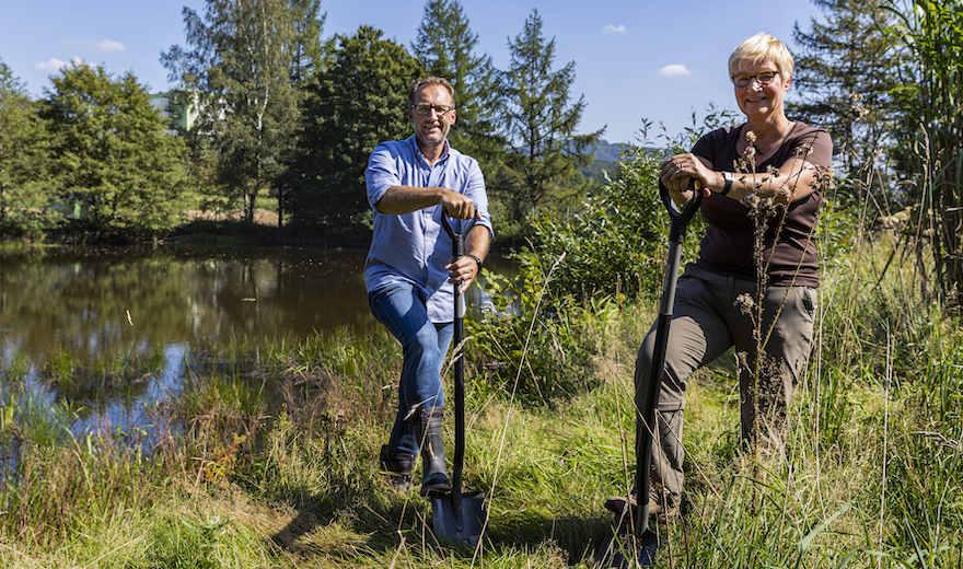 Krombacher startet Naturschutzprojekt