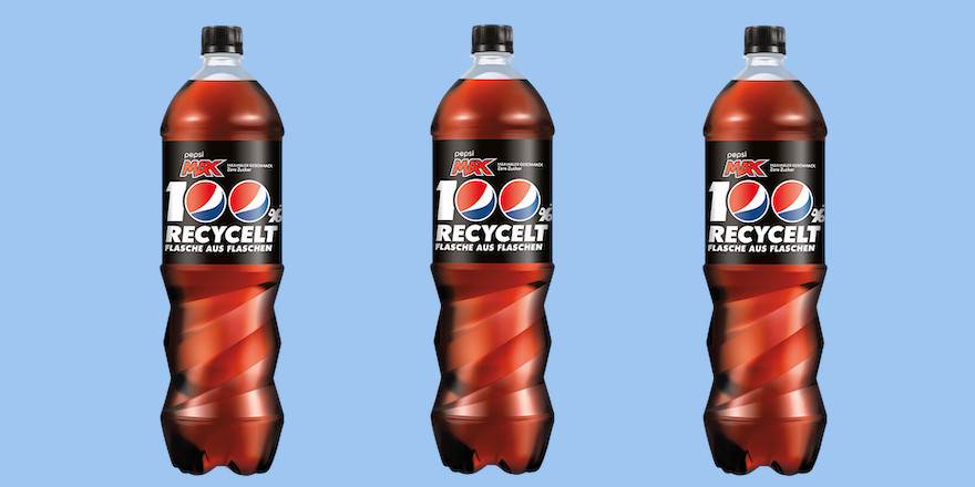 Pepsico stellt komplett auf rPET um