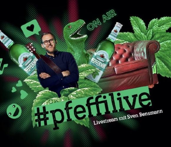 Pfeffi mit eigener Show