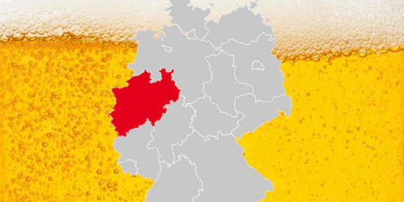 Der Biermarkt in NRW