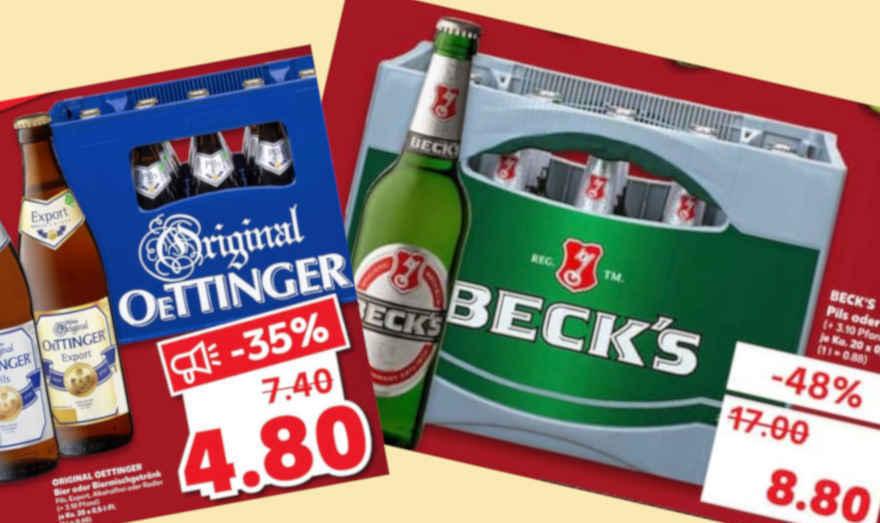 Preise für Beck's im freien Fall